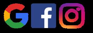Google-Facebook-Instagram