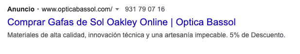 Tipo de anuncios de búsqueda dinámicos